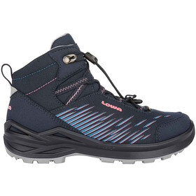 Lowa Zirrox GTX Mid Shoes Kids, navy/rosé